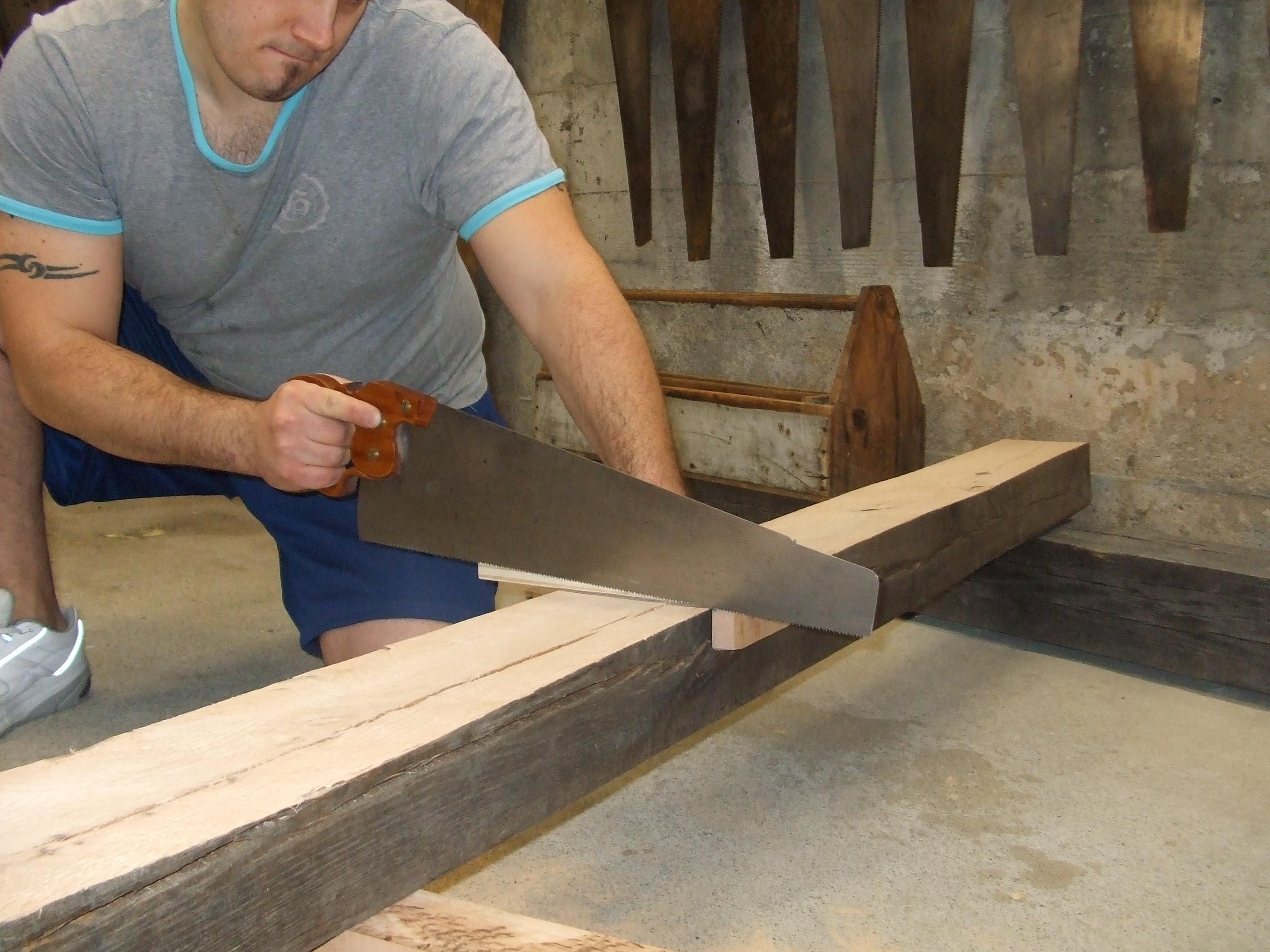 Wood Cutting Hand Tools PDF Woodworking